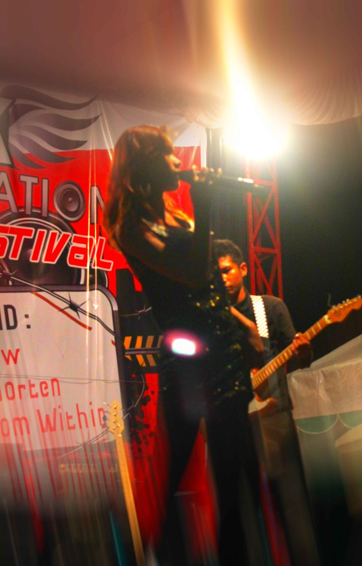 Fower on The Stage.