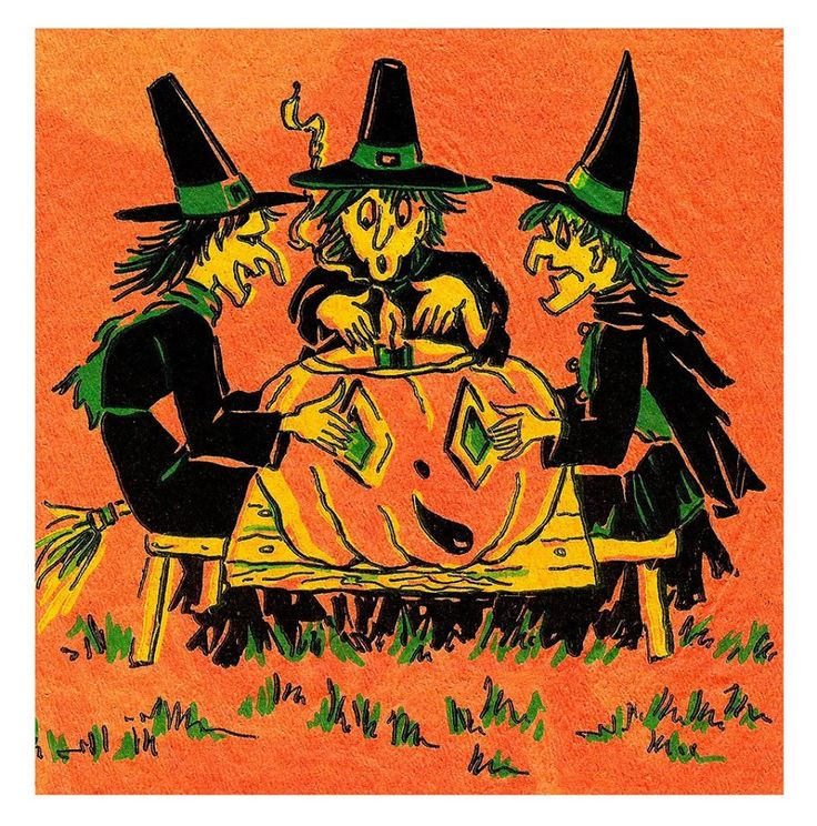 373 best Vintage Halloween images on Pinterest