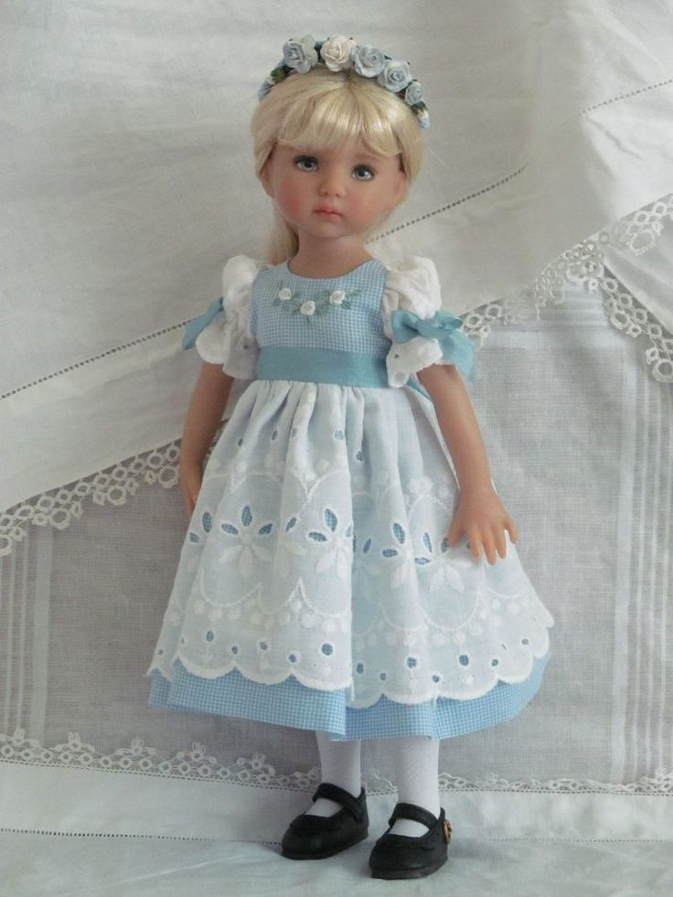 """Outfit for 13"""" Effner Little Darling dolls"""