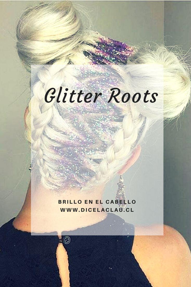Las glitter roots comenzaron a llevarse. Mira ideas y cómo hacerlo.