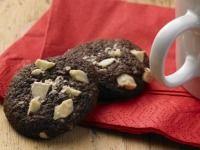Čokoládové cookies s kousky bílé čokolády