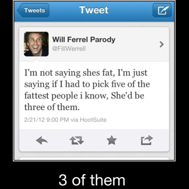 Will Ferrel tweets are the BEST!!