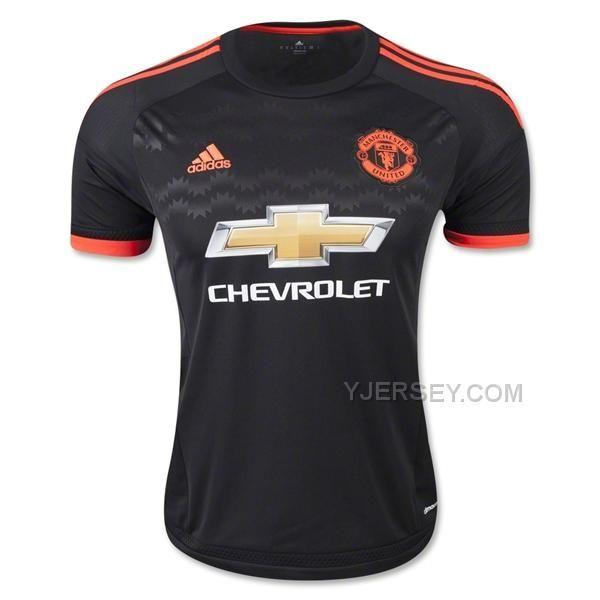 9c7e2da05ef ... Manchester United Away Black Jersey Kit(Shirt+Short) ...