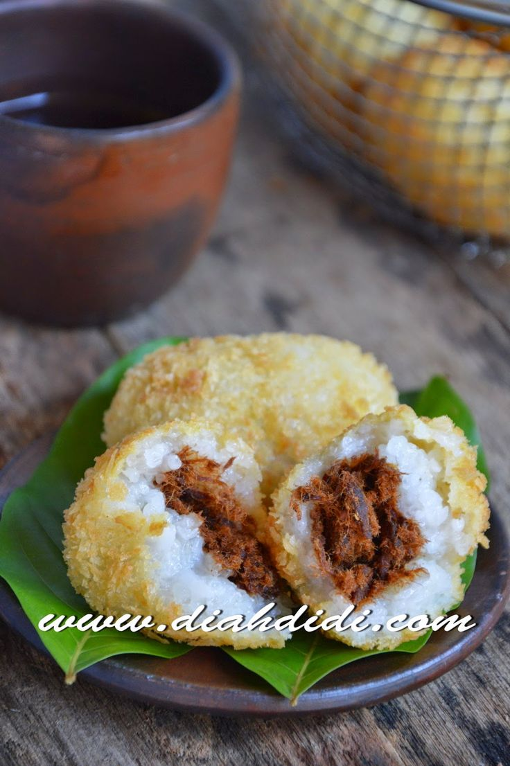 Diah Didi's Kitchen: Lemper Abon Goreng