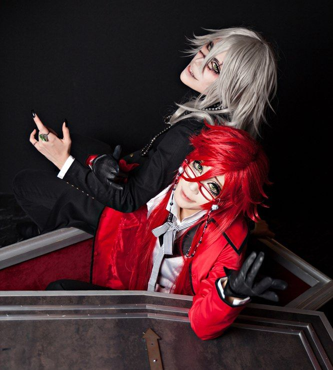 Kuroshitsuji (The Undertaker and Grell Sutcliff) (Cosplay)