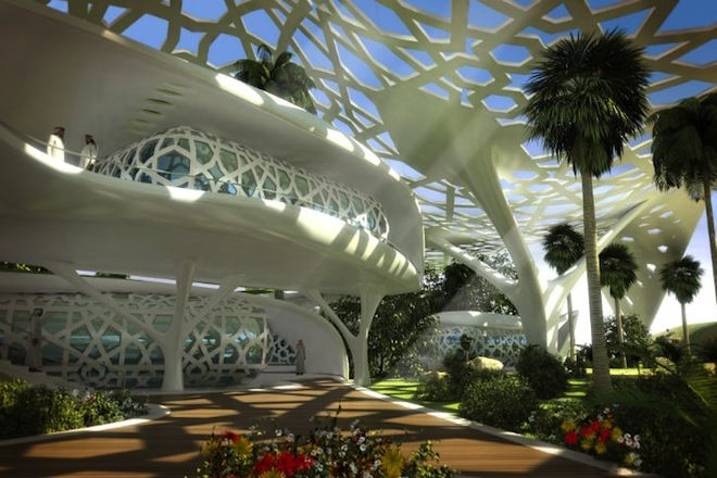 A palace for nature qatar architecture green design for Architectural design company in qatar