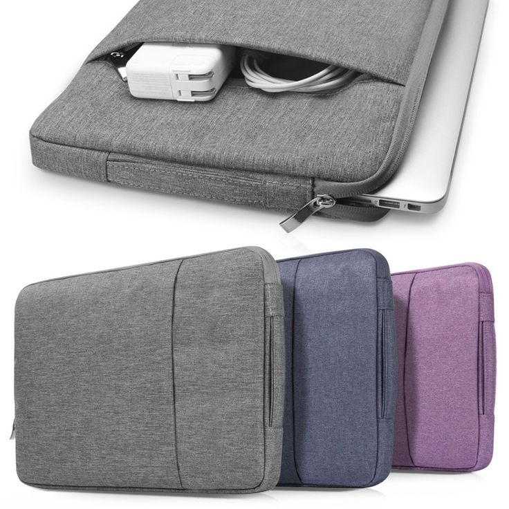For Macbook 13 inch ,  High Quality Nylon Laptop Bag Sleeve Pouch for Apple Mac book Air / Pro Retina 13.3