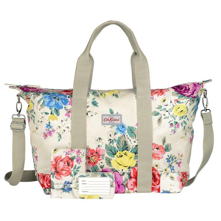 Hampstead Rose overnight bag gift set | CathKidston