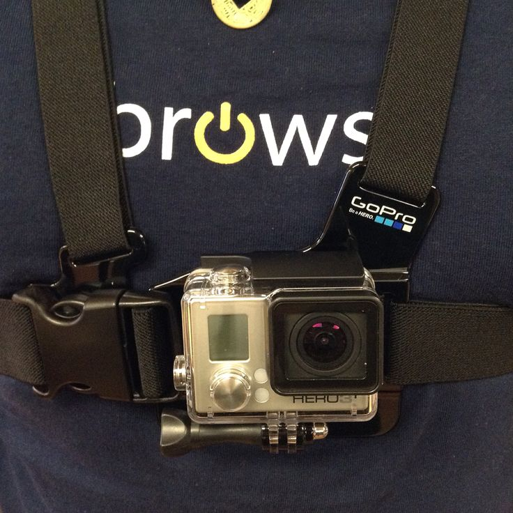 Come check out the #GoPro Chest Mount Harness. It's perfect for seeing your knees and skis while skiing & your handlebars while riding and more! #BrowseLIU #Browse #accessories