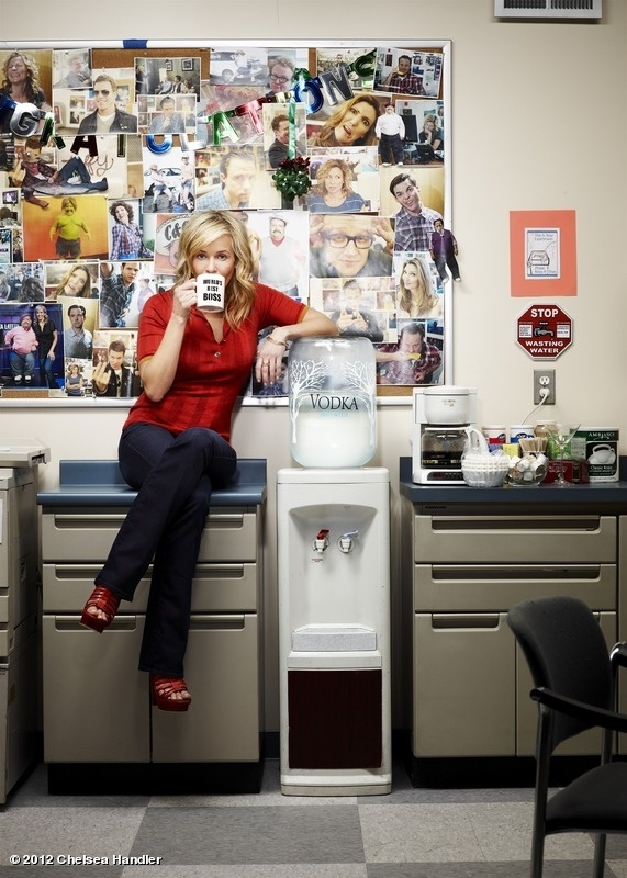 Chelsea Lately is something I watch pretty much everynight before I go to sleep. Chealsea Handler is hilarious and as far as I know, the only woman that has a late night talk show. I like it because Chealsea's dry sense of humor is much like my own.