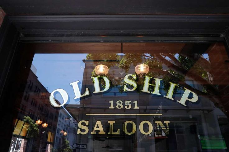 The Old Ship Saloon on the corner of Battery and Pacific streets dates back to the Barbary Coast days. Photo: Michael Macor, The Chronicle