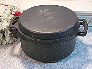 vintage cast iron skillets   Vintage Lauffer Enamel Enamel Cast Iron Dutch Oven Cookware (Cookware ...