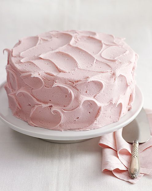 Texture pink frosting | from Amy's Bread