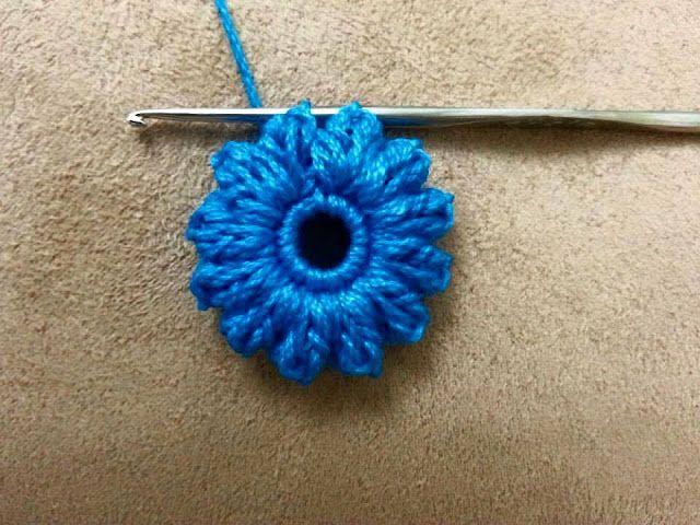 Tutorial #76: Chal de Flores a Crochet ~ CTejidas [Crochet y Dos Agujas]
