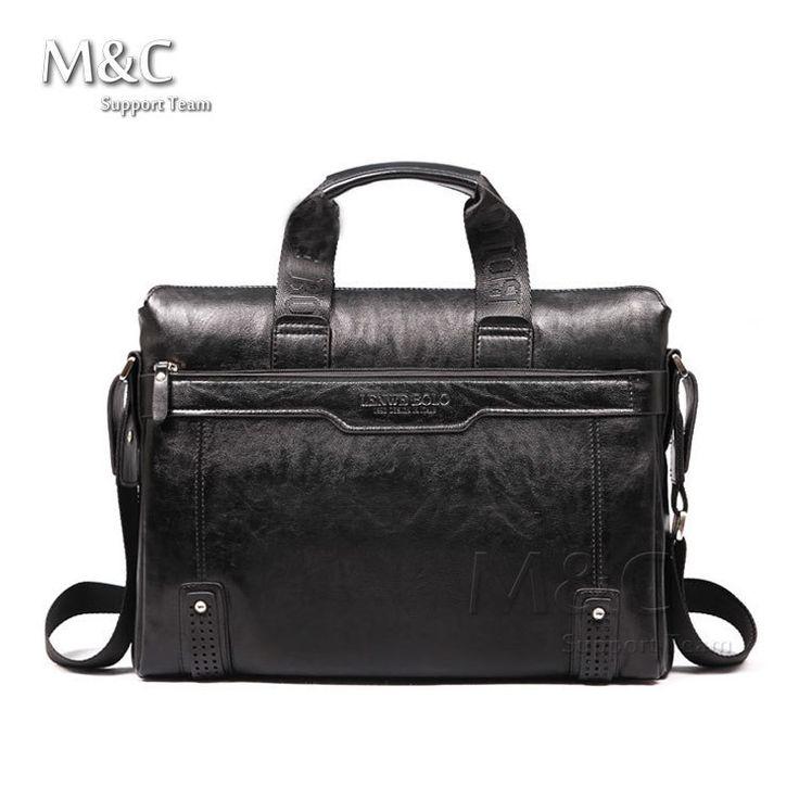 2015 New Genuine Leather Bag For Men Briefcase Handbag Men Shoulder Bag office Bag leather laptop briefcase SD 175-in Shoulder Bags from Luggage & Bags on Aliexpress.com   Alibaba Group