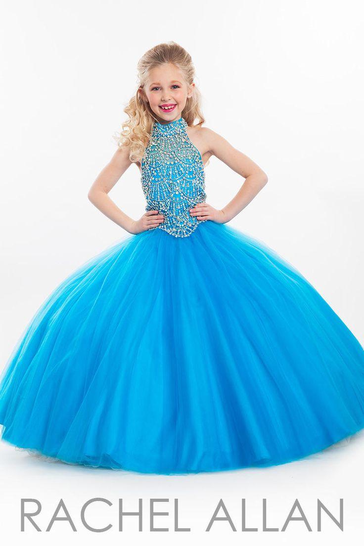Gowns For Little Girl. Interesting Little Girls Sequined Halter ...