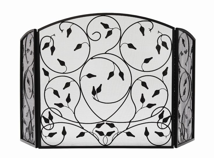 Leaves 3 Panel Wrought iron Fireplace Screen - 25+ Best Ideas About Wrought Iron Fireplace Screen On Pinterest