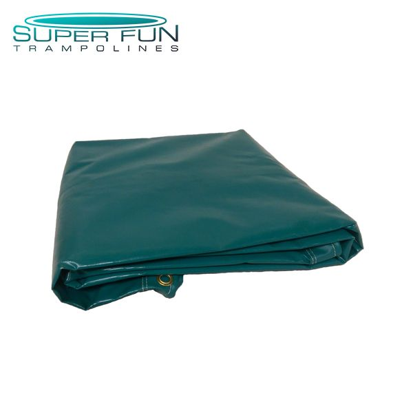 13' Big Wave Green Solid Jumping Mat - Super Fun Trampoline Click on the image to purchase on our website!
