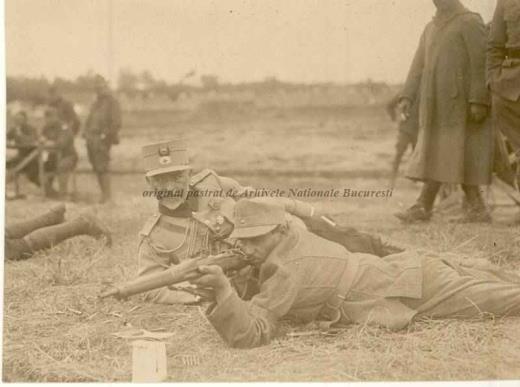 BU-F-01073-1-00059 Soldat la instrucţie. Primul război mondial, -1916 (niv.Document)