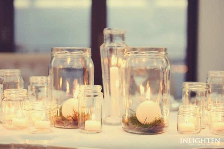 Sergeants Mess -  Romantic, fun, simple and creative candle light ideas for any wedding reception.