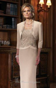 Permitido para maiores de 50: Vestidos para mãe de noiva e noivo