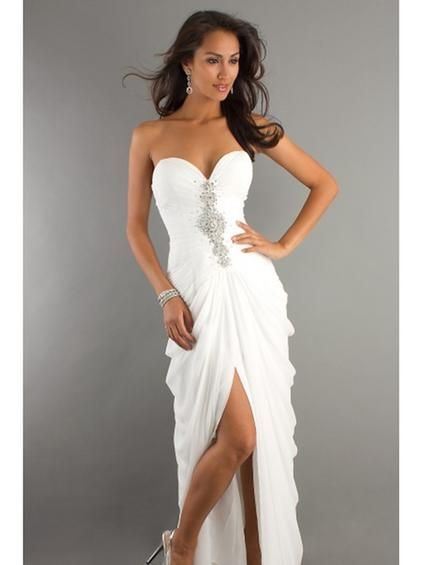 white evening dress long uk