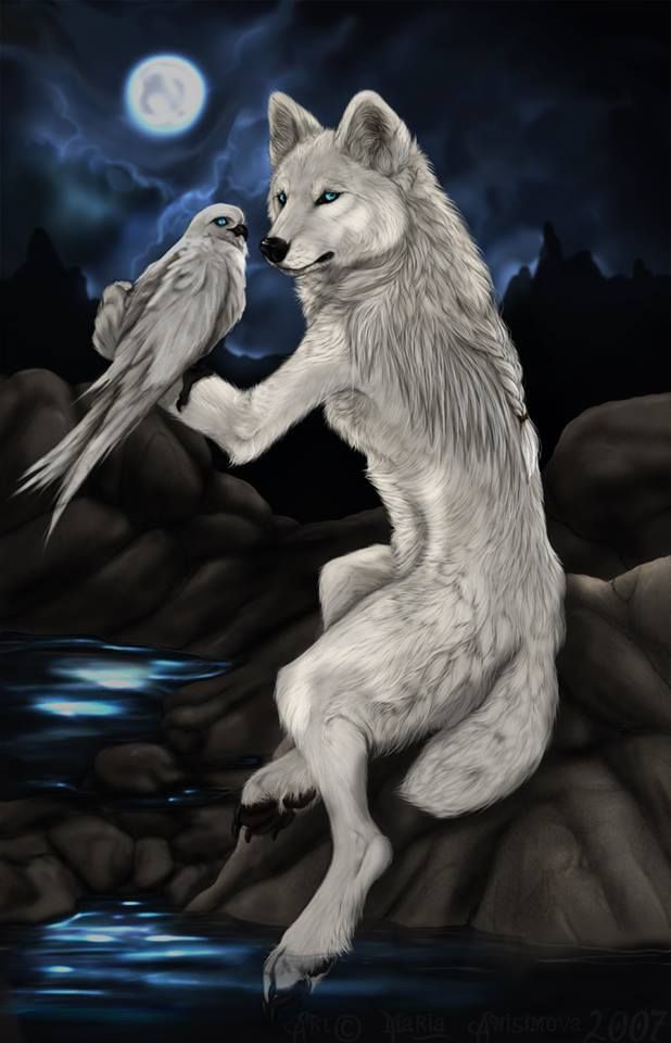 Yellow Anime Wolf 95 best WOLF PAINTINGS...