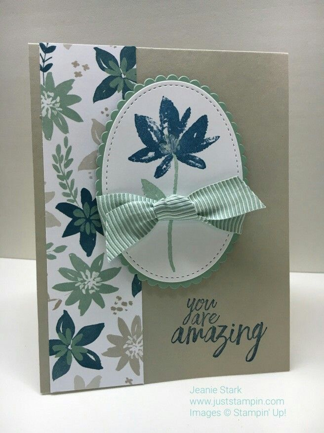 Stampin' Up! Advant garden