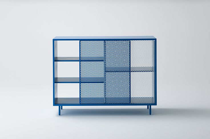junpei tamaki + iori tamaki overlap crystal pattern in snowscape cabinet - designboom | architecture & design magazine