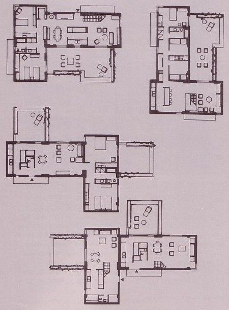 Montreal habitat 39 67 moshe safdie floor plans for Habitat 67 architecture