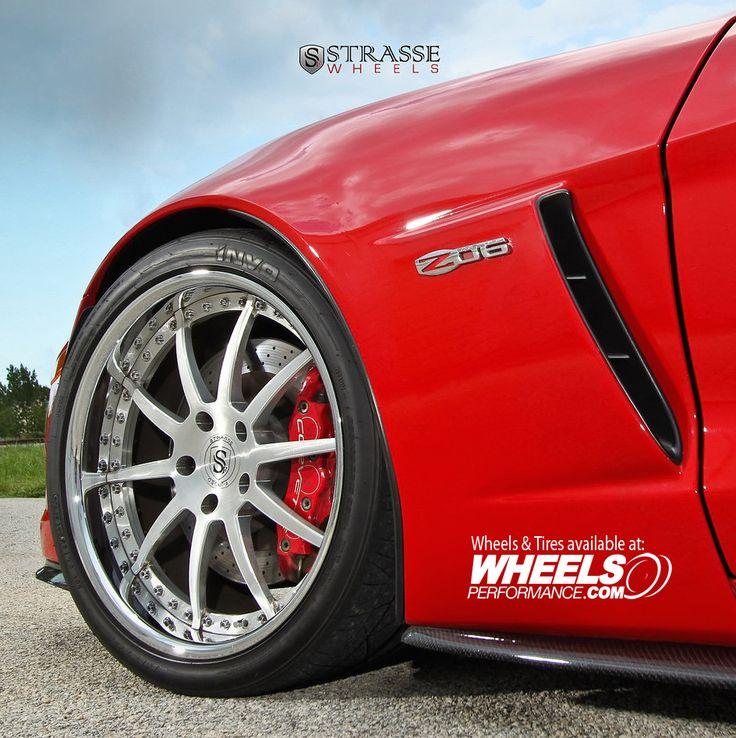Strasse Wheels Corvette Z06  R10 Signature Series Wheels. Brushed Aluminum Centers. Chrome Lips. Chrome Hardware. Gloss Black Inner Barrels  @StrasseWheels   #wheels #wheelsp #wheelsgram #strasse #strasseforged #r10 #wpr10 #threepiece #strassewheels #forged #teamstrasse #wpstrasse #wheelsperformance #chevrolet #corvette #c6 #z06  Follow @WheelsPerformance 1.888.23.WHEEL(94335)   www.WheelsPerformance.com