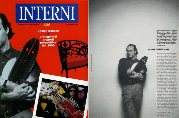 Gianni Veneziano   1992 Interni 426