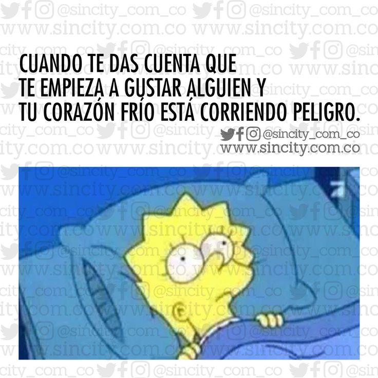 No puede ser.  #imagenes #imagenessincity #sincity #sincitycolombia #colombia #lisa #lisasimpson #megusta #megustaalguien #corazon #corazonfrio #frio #peligro #correpeligro