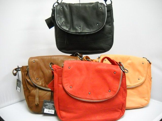 1 Gabee LW53805 -  Adjustable Shoulder strap.  Zip feature with compartments.  Available in Red, Stone, Black and Orange.  28W x 16H
