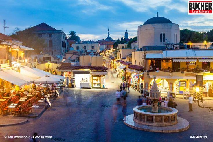 Ein kleiner Markt auf Rhodos - hier gibt so einige Leckereien. #bucherreisen #lastminute #griechenland #rhodos