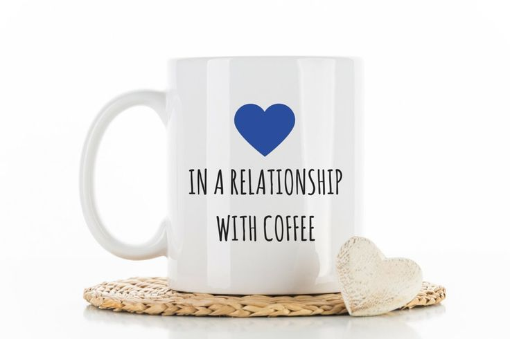 I'm in a Relationship with Coffee - Funny Mug Gift, Funny Coffee Mug, Humor mug, Coffee Mug, Coffee Joke, Statement Mug, Unique Mug, Custom Coffee cup, facebook mug. Funny Mug Gift, Funny Coffee Mug, Humor mug, Coffee Mug, Coffee Joke, Statement Mug, Unique Mug, Custom Coffee cup, facebook mug, Funny Mugs for Him, Funny Mugs for Her, relationship mug This listing features a classic ceramic mug with hard coated glossy finish that is hard to scratch or scrape. Cute funny take on facebook...