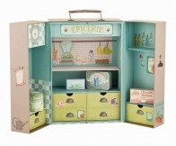 Beautiful French styling is present in this Epicerie (Grocery) store set from Moulin Roty