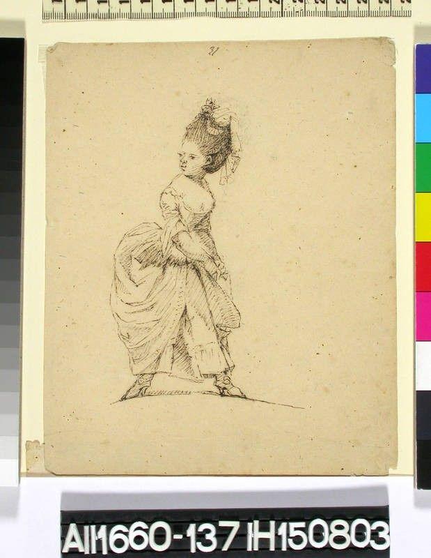 Sketch by Augustin Ehrensvärd (1710-1772) | Finna.fi