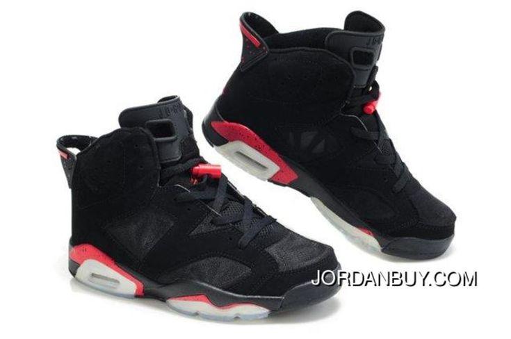 http://www.jordanbuy.com/original-air-jordan-6-vi-retro-mens-shoes-mesh-breathable-black-red-sneaker.html ORIGINAL AIR JORDAN 6 VI RETRO MENS SHOES MESH BREATHABLE BLACK RED SNEAKER Only $85.00 , Free Shipping!