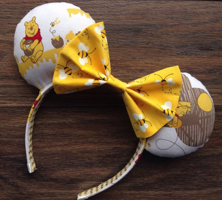 Busy Bee Winnie the Pooh Ears by 3rdStarOnTheRight on Etsy https://www.etsy.com/listing/273814874/busy-bee-winnie-the-pooh-ears