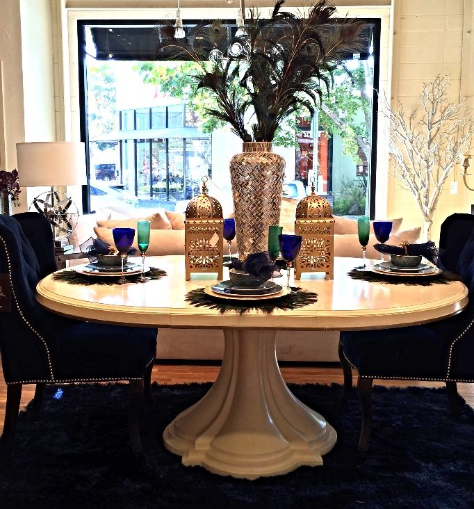 Snapped In Our Berkeley CA Store Come Visit Us To Get Inspired For Your Glitzy GlamDinning TableKitchen