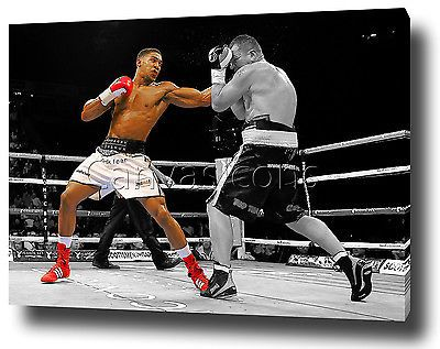 Anthony #joshua canvas print poster #photo wall art 2015 knockout #boxing,  View more on the LINK: http://www.zeppy.io/product/gb/2/252196783751/