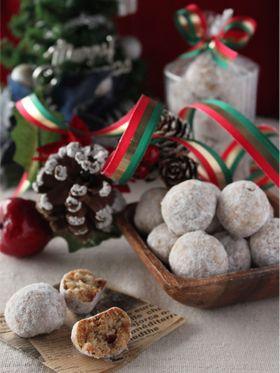 「スパイス香るシュトーレン風スノーボール」takacoco | お菓子・パンのレシピや作り方【corecle*コレクル】