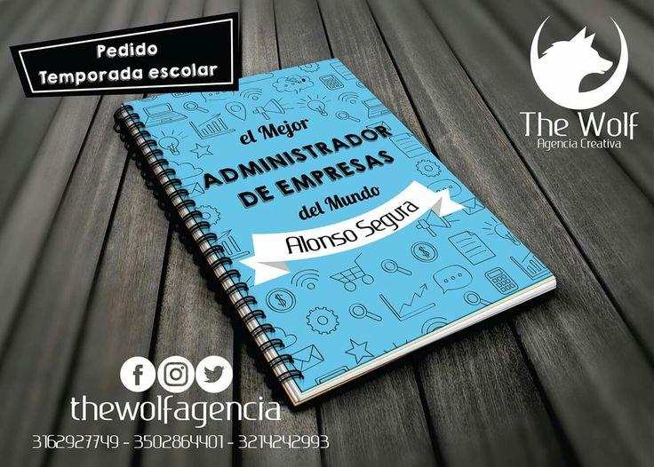 PRONTO CONCURSO TU AGENDA PERSONALIZADA DEL TAMAÑO Y MATERIAS QUE QUIERAS!!!➡ Agendas y cuadernos personalizados... fotografia, profesion, nombre e ilustraciones de tu mascota, lo que quieras... pregunta como puedes tenerla, redes sociales -> @thewolfagencia 📱3162927749 - 3214242993 o 3502864401🐺 . #socialmedia #photo #design #ilustracion #work #workday #colorful #publicidad #marketingdigital #photography #designs #chat #people #post #foto #fotografia #day #week #goodmorning #girls…