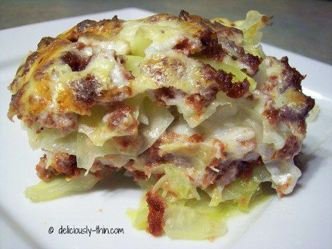 Low Carb Corn Beef and Cabbage Casserole - it's soooo good!