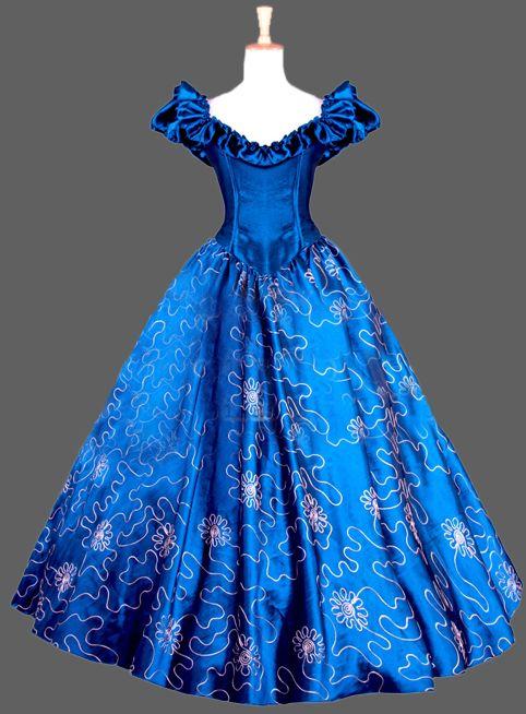 17 do século $number Marie Antoinette Era tribunal popeline vermelho longo arrastando vestido de noiva traje Cosplay em Vestidos de Roupas e Acessórios no AliExpress.com | Alibaba Group