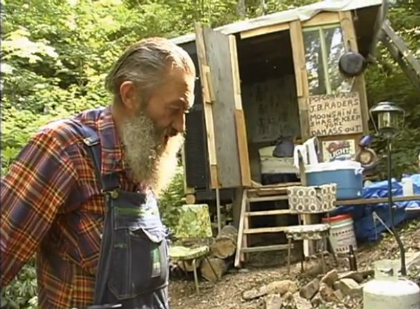 "Photo: THE GODFATHER: Moonshine became a pop culture fixture this century with the 2002 documentary This Is the Last Dam Run of Likker I'll Ever Make, featuring the charismatic Cocke County moonshiner Marvin ""Popcorn"" Sutton. - Knoxville, TN 