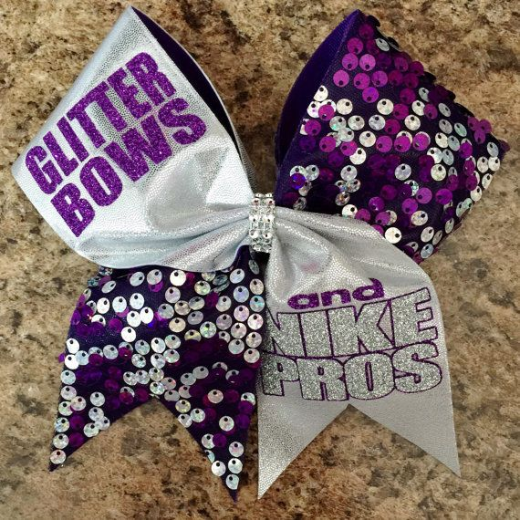 The Original Glitter Bows and Nike Pros Cheer by Baddablingbows