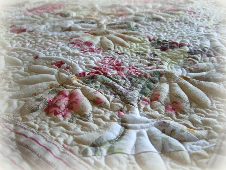 Best trapunto quilts images on pinterest free motion