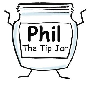 Funny Tip Jar Sayings on Apparel, Clothing and Other Items | Phil ...